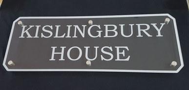 Bespoke house sign