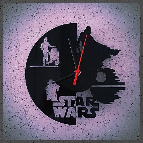 Starwars Perspex clock