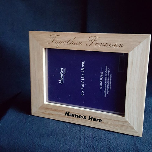 Solid Oak picture frame