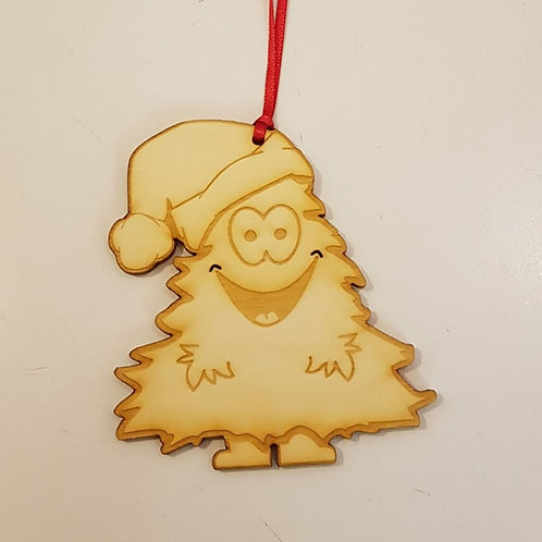 cute christmas tree hanging decoration