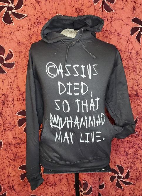 Black Cassius Hoodie