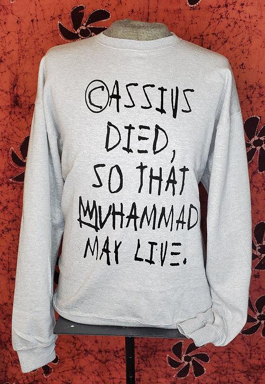 Grey, Evolution of Cassius crewneck