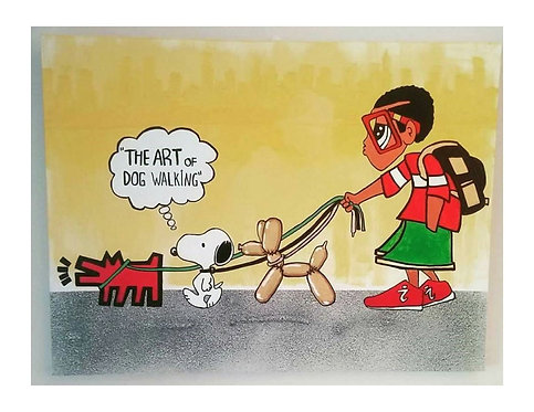 The Art of Dog Walking