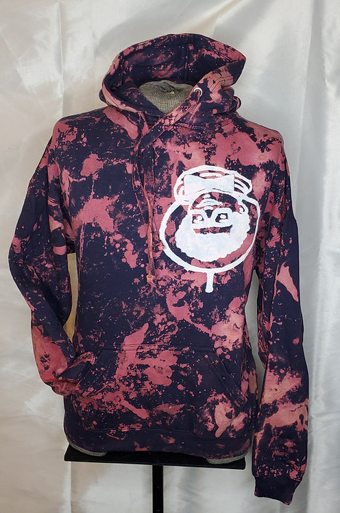 Bleach Blue AFRO-NAUT hoodie