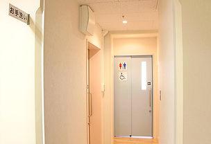 衣山クリニック 外来トイレ