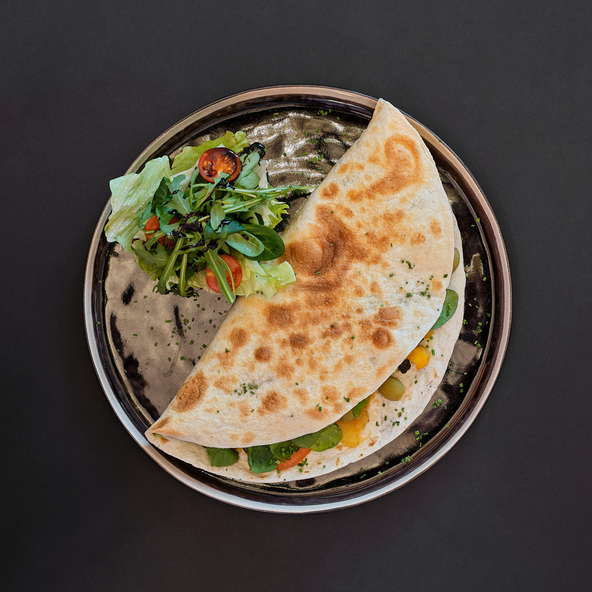 Quesadillas (vegan)