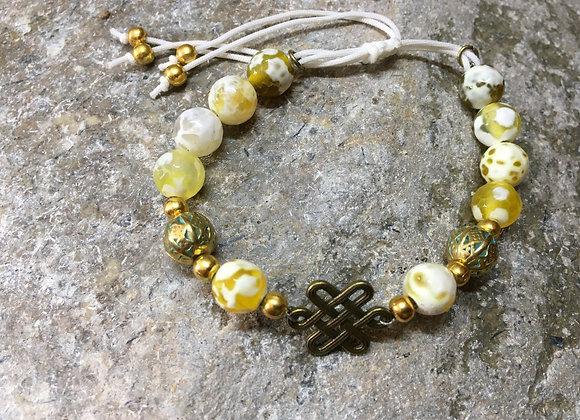 Yellow Harmony Bracelet