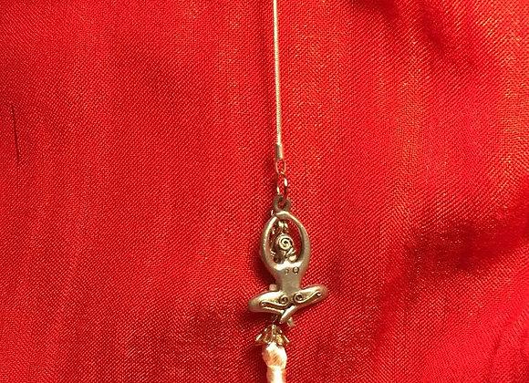 Lariat Style Yoga Necklace