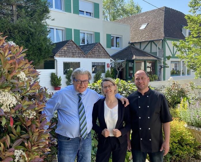 Patrice Paillé, Nathalie Paillé, Cédric Caille