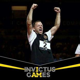 Edwin Vermetten at the Invictus Games