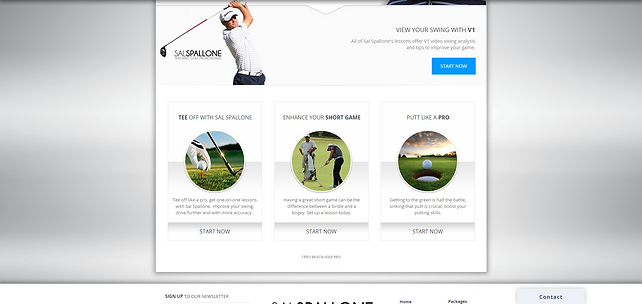 Professional Golf Player | AppMe Solutions | Chicago Web