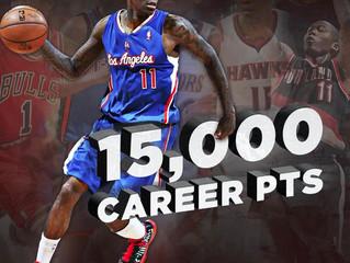Crawford Surpasses 15,000 Career Points In Win Against Jazz