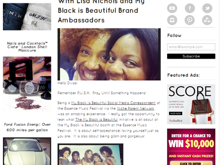 Luxetips Beauty! Essence Festival Highlights! Interview With Lisa Nichols and My Black is Beautiful