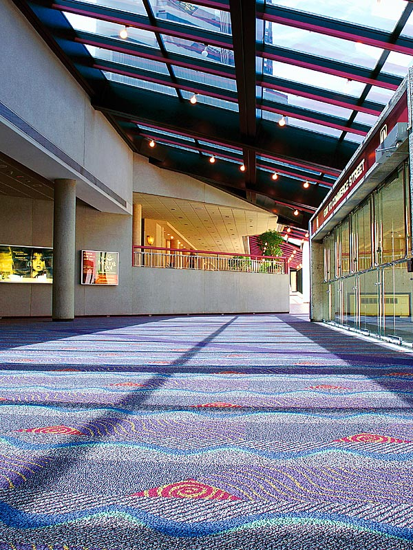 Carpet tile installation By NLI inc.