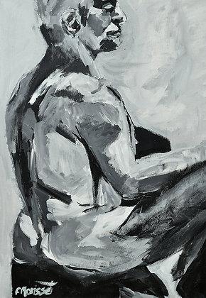 Michael 27 x 23 Po / 69 x 58 cm