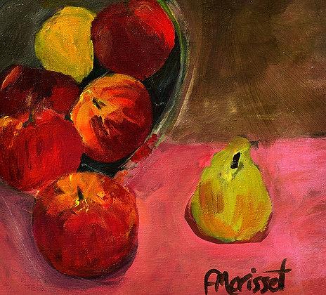 Pommes poire    11 x 10 po / 28 x 25 cm