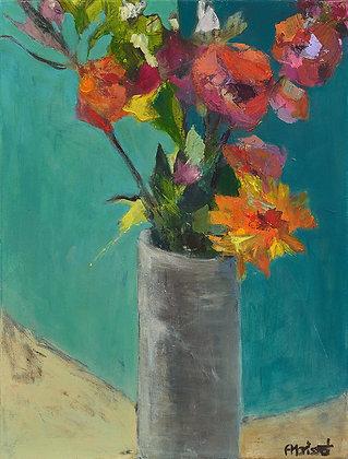 Fleurs du sud    24 x 18 po / 61 x 46 cm