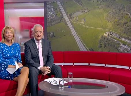 BBC Points West with the DJI Mavic Pro 2