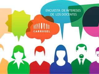 Encuesta de intereses de los docentes/Carrusel Escuela de la Mirada.