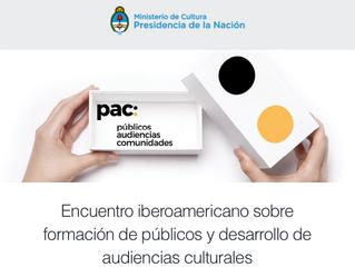 Encuentro iberoamericano sobre formación de públicos y desarrollo de audiencias culturales 2018