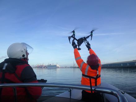 Cruise ship Seven Seas Explorer arrival at Southampton