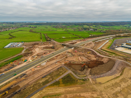 Galliford Try digs in to get new roundabout over the M49 in Bristol built ASAP