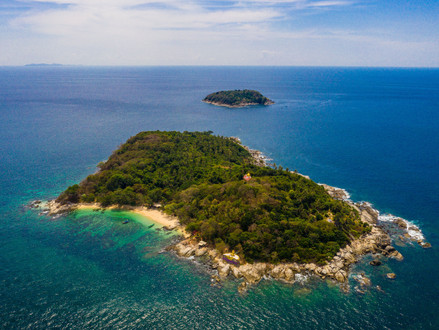 Little Island off the southern tip of Phuket, Thailand.