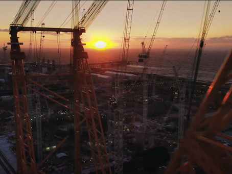 Icebox Aerial Media provides shots for EDF TV advert 2020. 'Helping Britain Achieve Net Zero'
