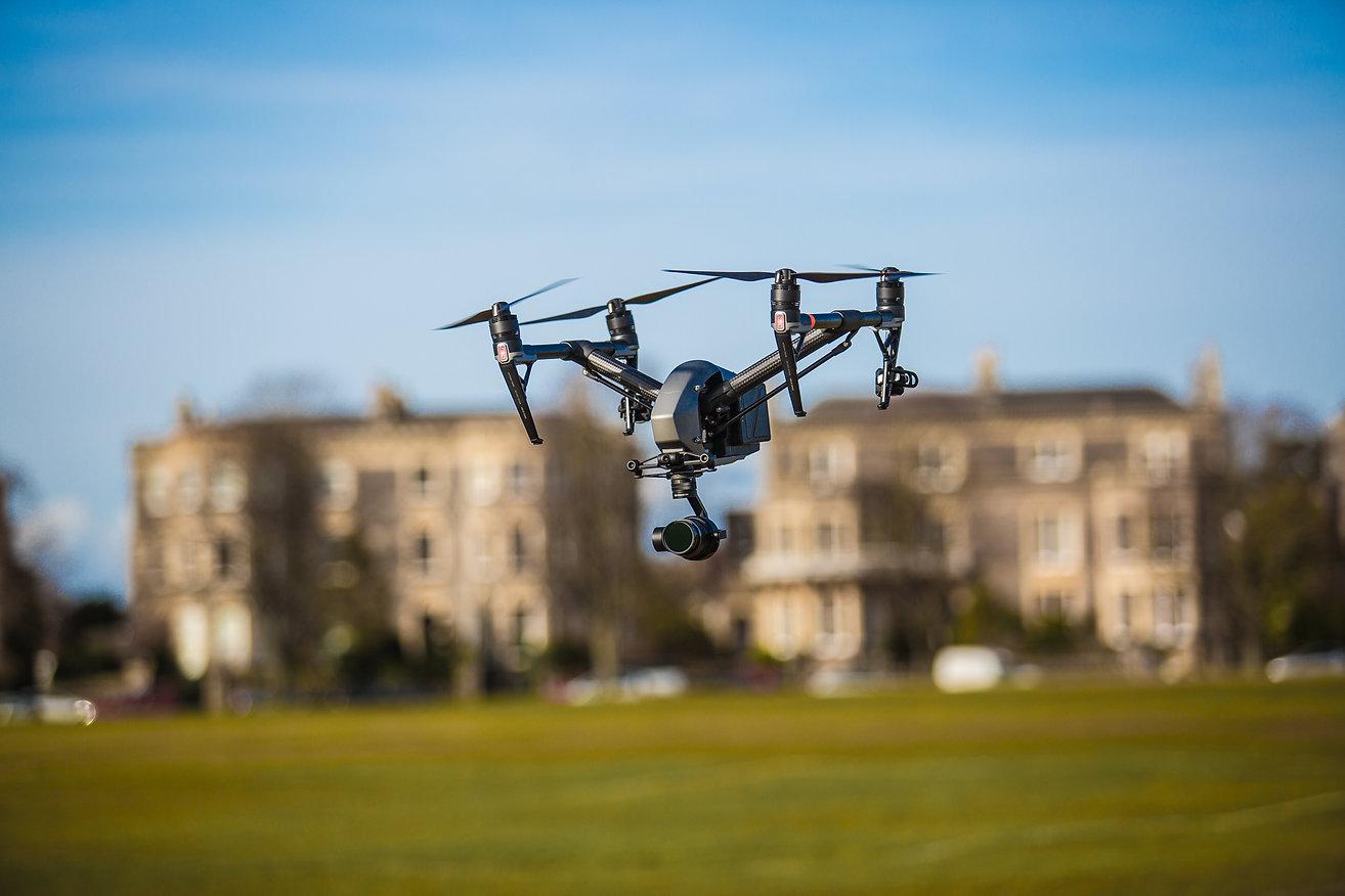 DJI Inspire 2 drone David Hart operator