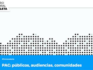 NOTICIAS: Encuentro Iberoamericano sobre Desarrollo de Audiencias – PAC: públicos, audiencias, comun