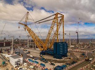 Big Carl crane Hinkley Point C