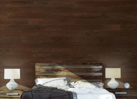 Umber Peel and Stick Wooden Wall Planks
