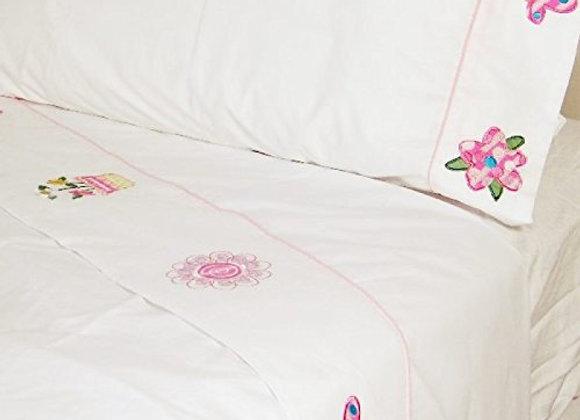 Annas Dream Embroidered Sheet Set