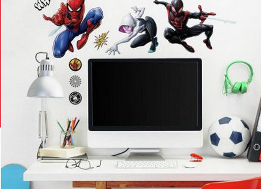 Roommates Spider-Man Into the SpiderVerse Peel and Stick Wall Decals