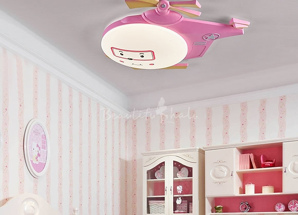 Airplane LED Flush Mount Ceiling Light