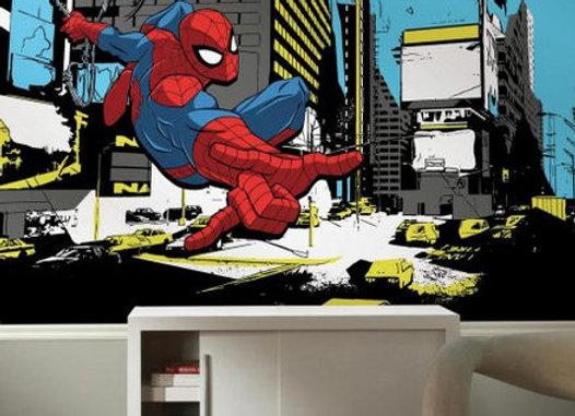 Spider Man Classic XL Surestrip Wall Mural 10.5' x 6'