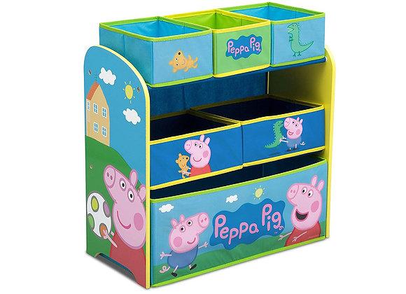 Peppa Pig Toy and Book Storage Bin