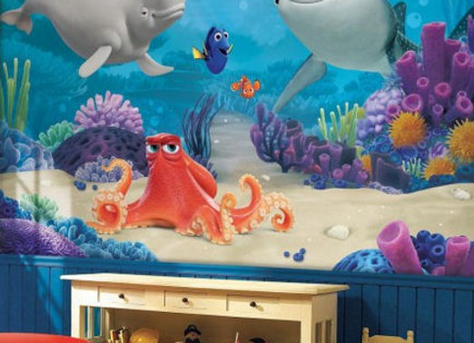 Finding Dory Surestrip Wall Mural 10.5' x 6