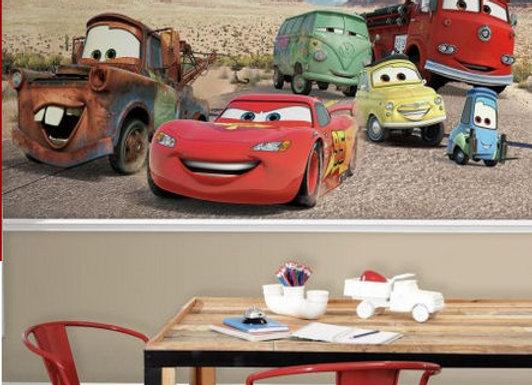 Disney Cars Desert Surestrip Wall Mural 10.5' x 6