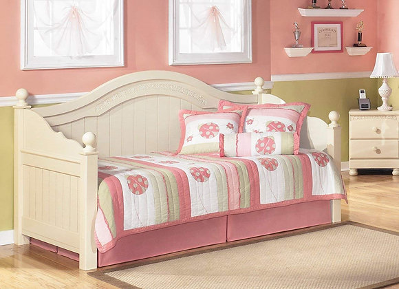 Cream White Cottage Retreat Twin Daybed