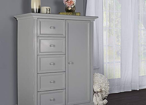 Napoli Chifferobe Armoire in Dove Gray