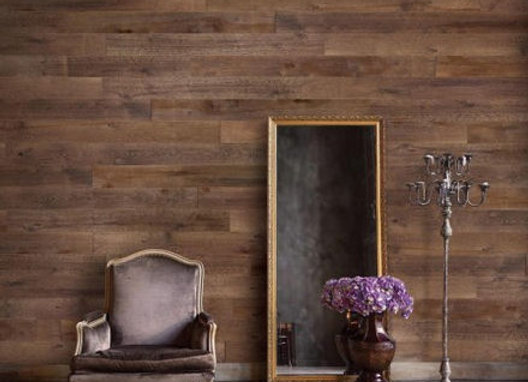 Sable Peel and Stick Wooden Wall Planks