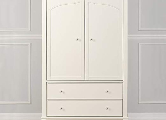Aurora Armoire in Ivory Lace