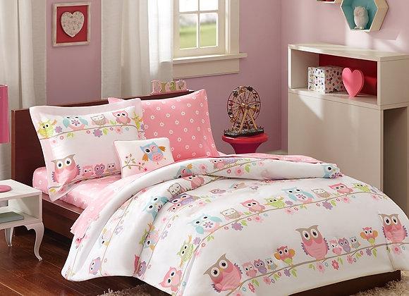 Mi-Zone Kids Wise Wendy Comforter Sets 6-8 Pcs