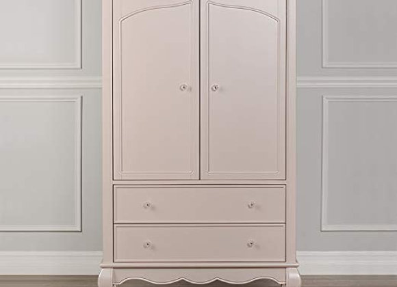 Aurora Armoire in Blush Pink Pearl