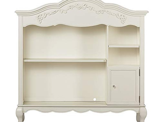 Aurora Bookcase in Ivory Pearl