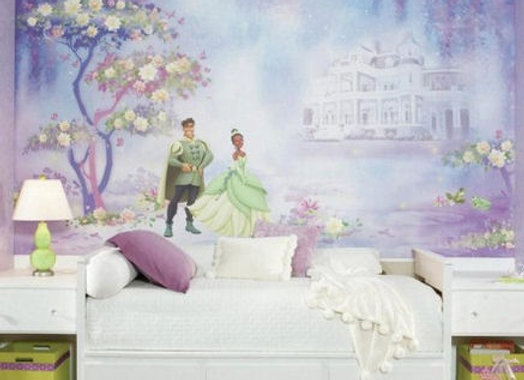 The Princess and The Frog XL Surestrip Wall Mural 10.5' x 6'