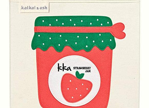 Strawberry Jam Storage Canvas Cube
