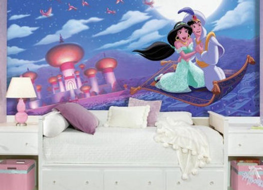 Aladdin Whole New World Surestrip Wall Mural 10.5' x 6'