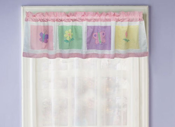 Spring Meadow Ruffle Window Valance
